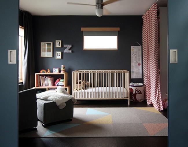 Color negro en dormitorios infantiles - Colores para dormitorios infantiles ...