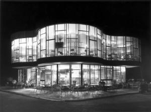estación de servicio Oliva de Juan de Haro. Fotografía de Piñar 1960
