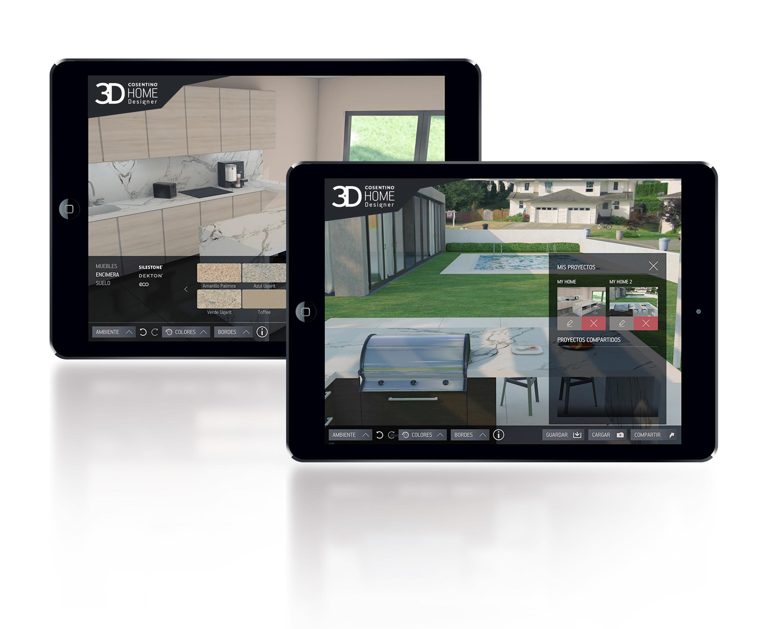 Consentino home permite dise ar y crear ambientes - App para disenar casas ...