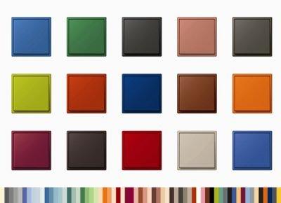 gama colores interruptor