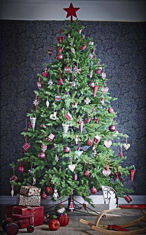 Adornos y decoraci n de navidad el abeto - Arbol de navidad abeto ...