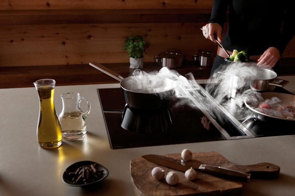 Extractor Baño Ruido:Bora hace posible cocinar sin campana extractora de humos