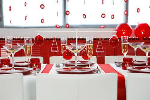 navidad decorar mesa