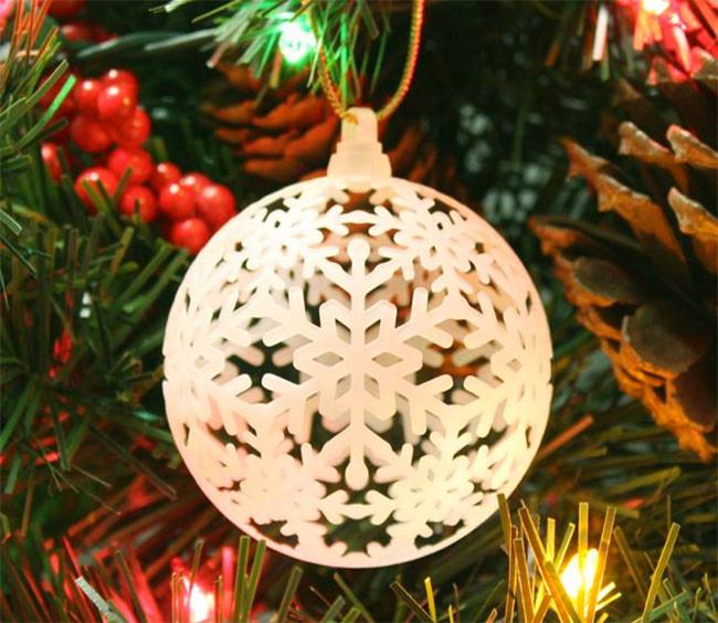 adorno navidad casa blanca