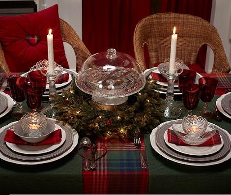 Adornos y decoraci n de navidad la mesa estilos ideas - Adornos navidenos de mesa ...
