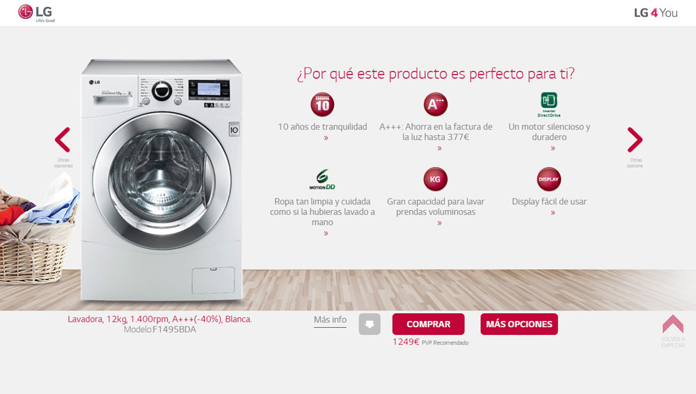 como elegir una lavadora