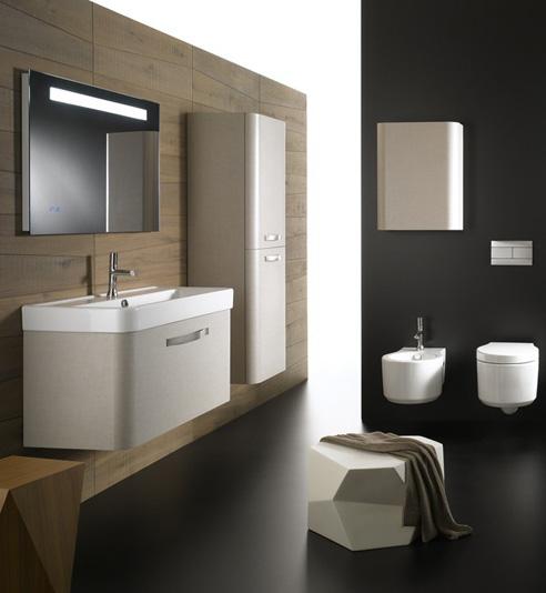 Muebles De Baño Water:los muebles de baño suspendidos facilitan la limpieza del suelo