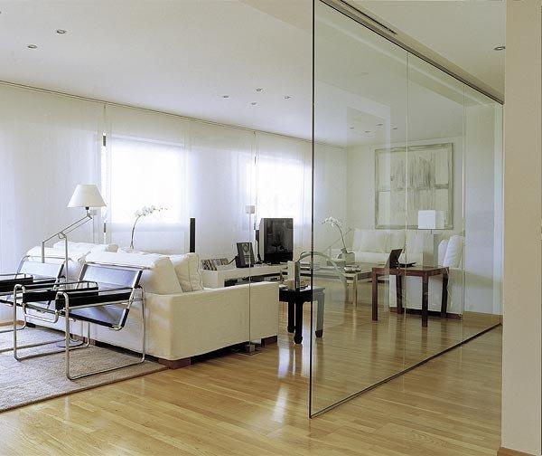 Separadores de ambientes de cristal son tendencia - Mamparas separadoras de ambientes ...