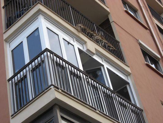 ventana exterior