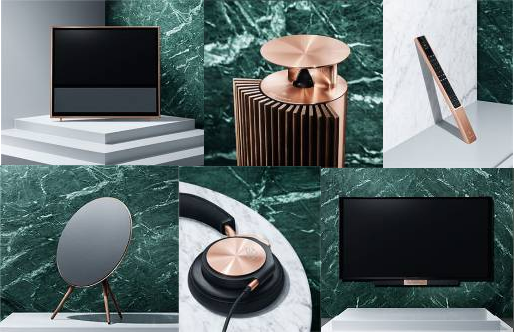 "Bang & Olufsen lanza ""The Love Affair Collection"
