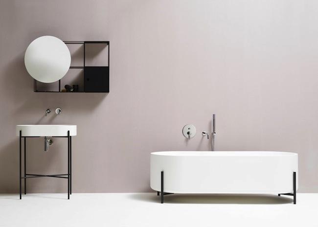 Norm Architects integran minimalismo en el cuarto de baño