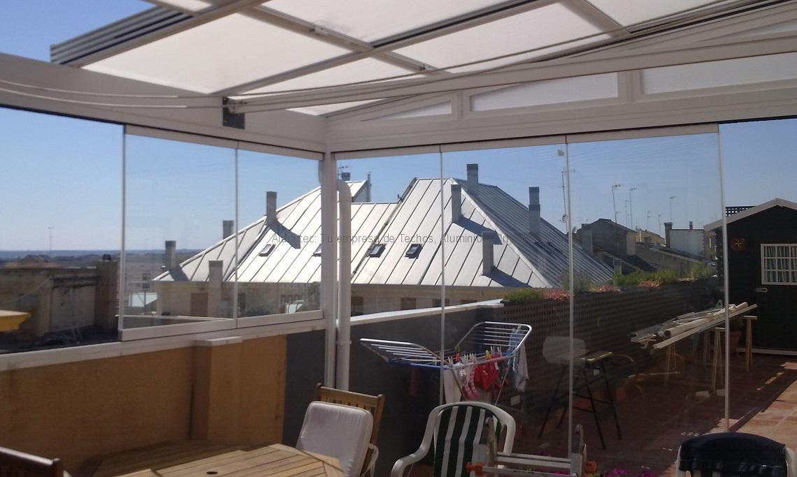 Disfruta de tu tico todo el a o tendencias para el hogar - Cerramientos de terrazas de aticos ...