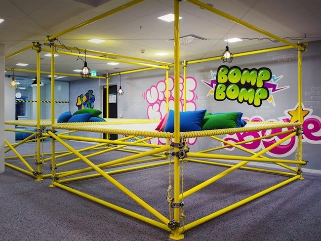 oficinas de los creadores de candy crash