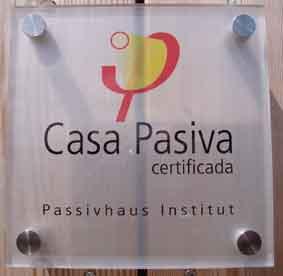 Certificado Passivhaus Larixhaus