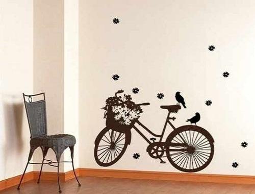 decoracion con bicicletas vinilo