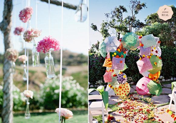 Como decorar una boda campestre for Decoracion boda exterior