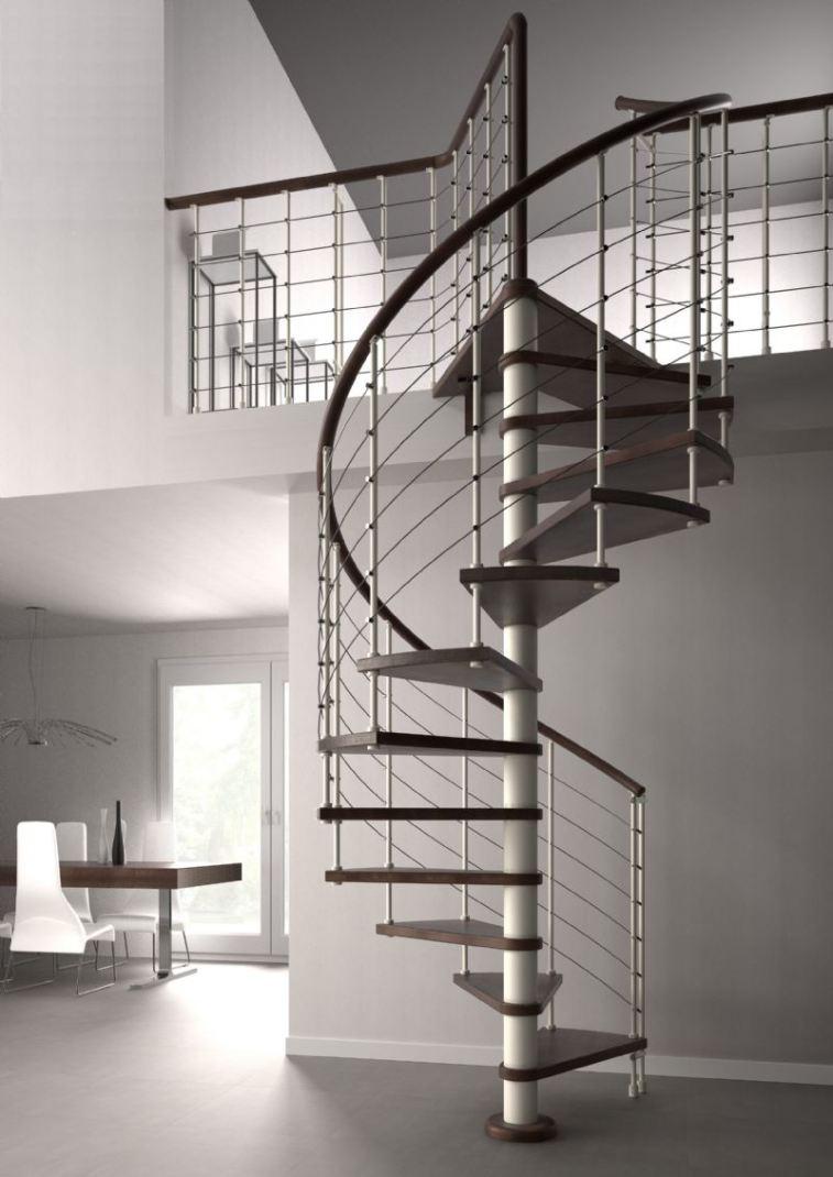 Las escaleras cada d a est n m s de moda - Modelos de escaleras de casas ...