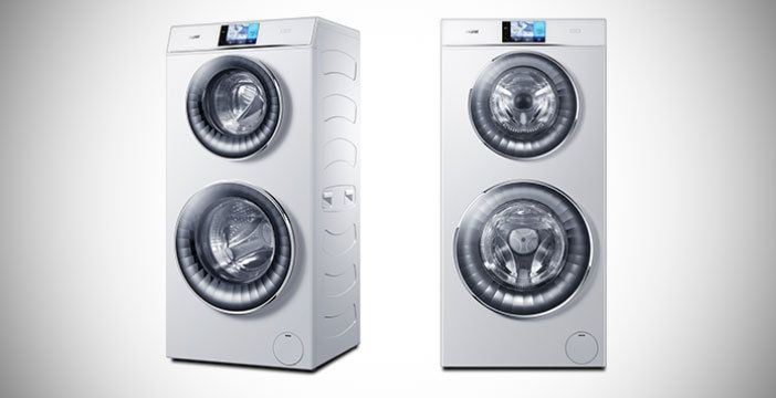 lavadora haier duo