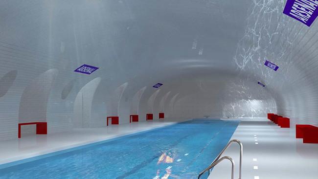 piscina metro