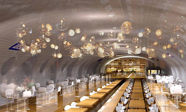 restaurante metro