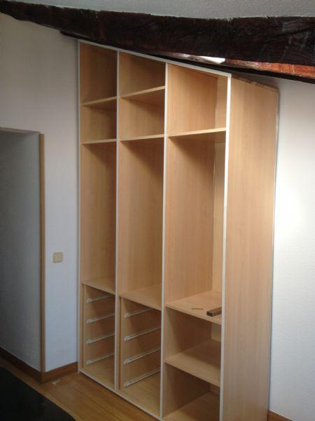 Consejos para dise ar un armario empotrado a medida - Cajoneras interior armario ...