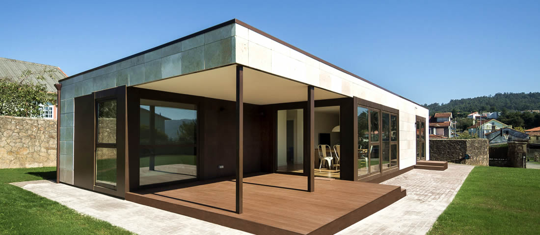 Las casas modernas prefabricadas buscan el minimalismo - Casas prefabricadas calidad ...