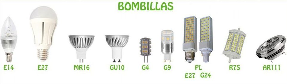 tipos bombillas led