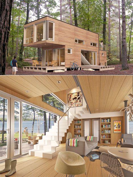 decoración vivienda modular