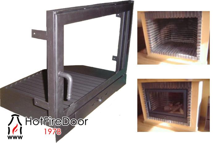 Como optimizar el calor de una chimenea tendencias para el hogar - Puertas de vidrio para chimeneas ...