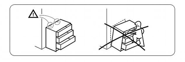 Ikea emite una alerta urgente tras la muerte de un ni o - Cajonera malm ikea ...