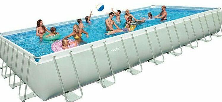 piscina para 12 personas