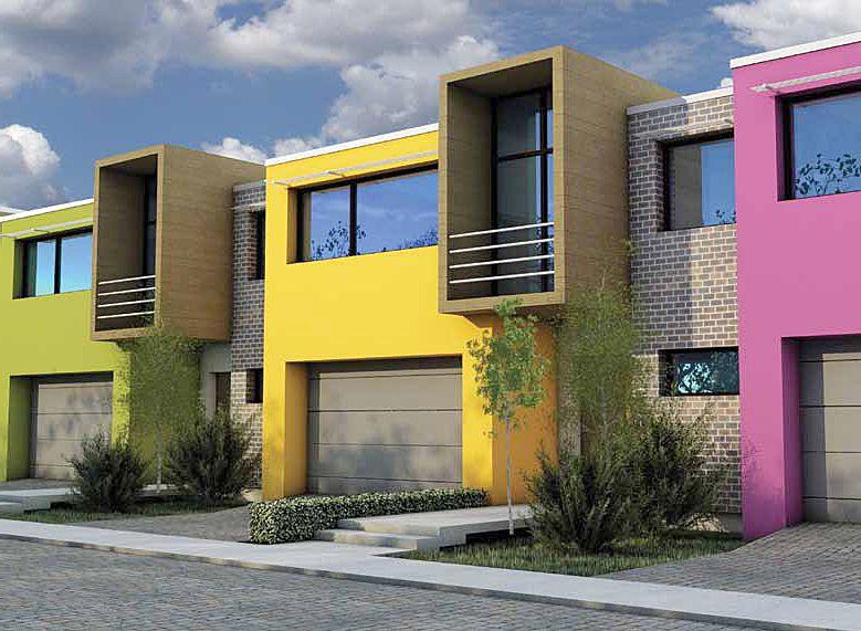 Elegir la pintura correcta para una fachada estilos - Pintura para fachadas de casas ...