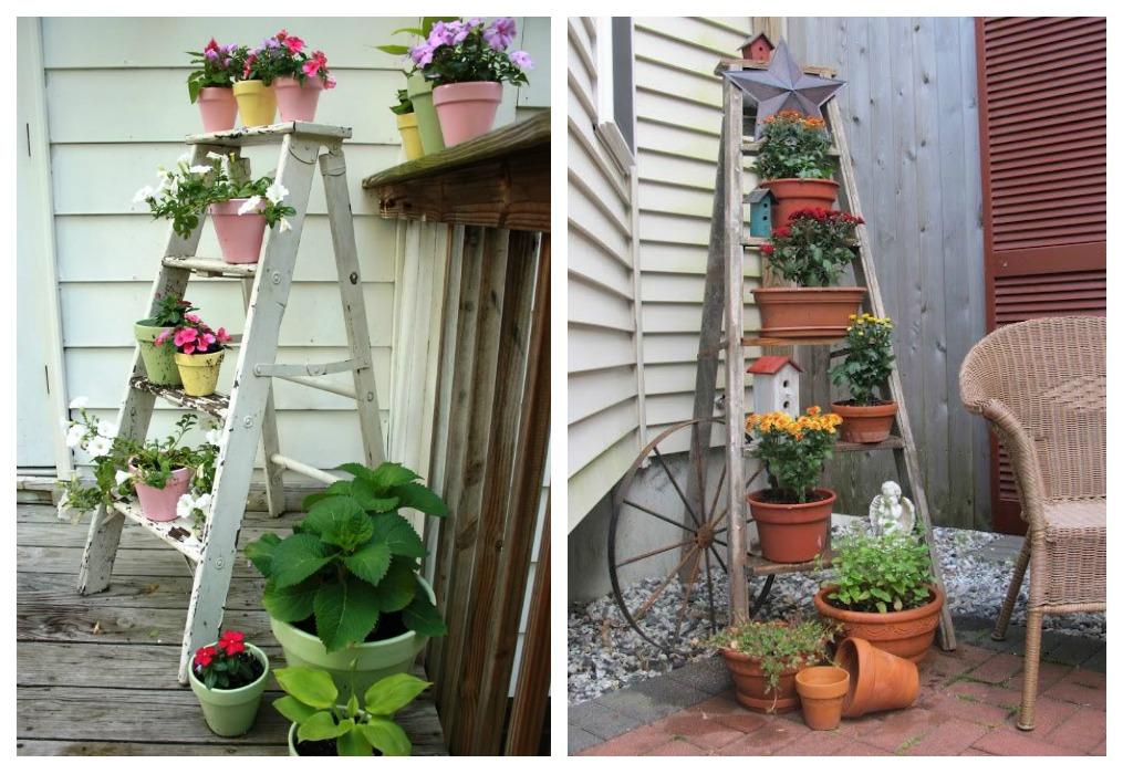 jardin escalera