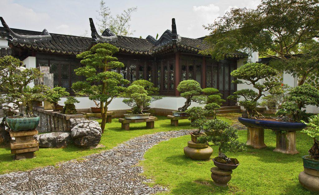 Garden a bonsai, Singapore