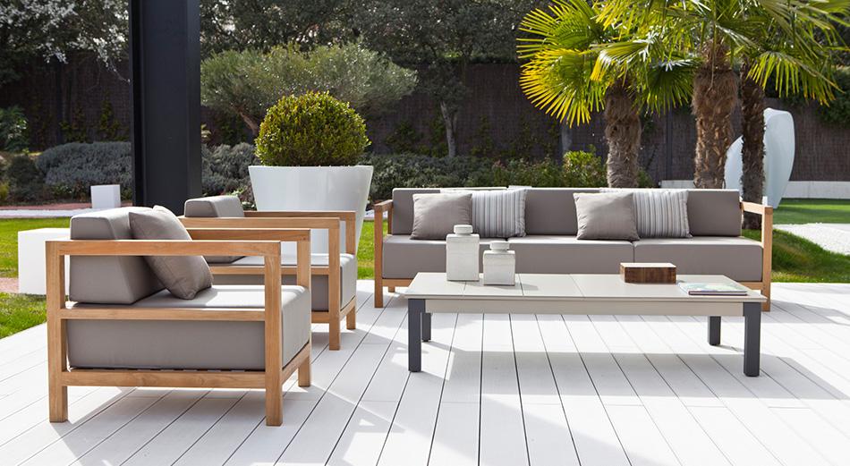 Jardines de moda 2016 tendencias para for Muebles para patios interiores