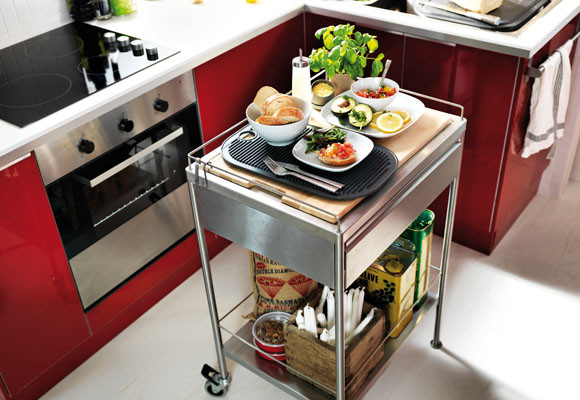 carrito para cocina
