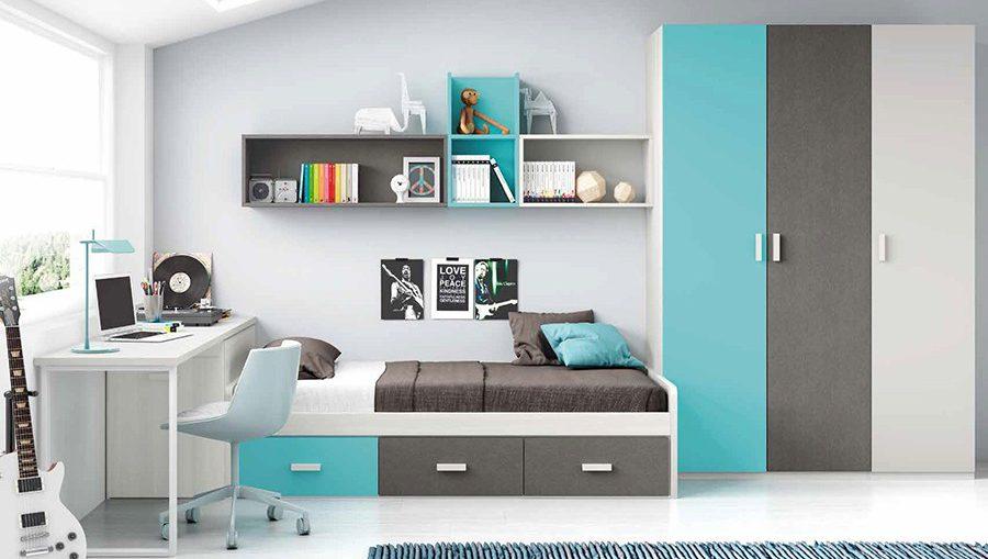 Camas nido en dormitorios infantiles y juveniles - Camas dormitorios infantiles ...