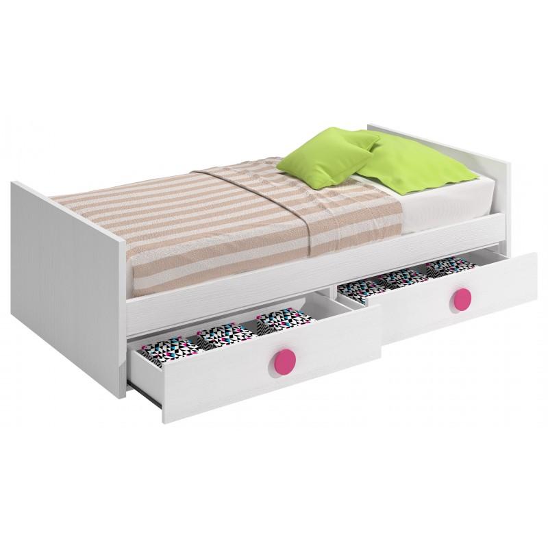 Camas nido en dormitorios infantiles y juveniles for Cama nido nina barata