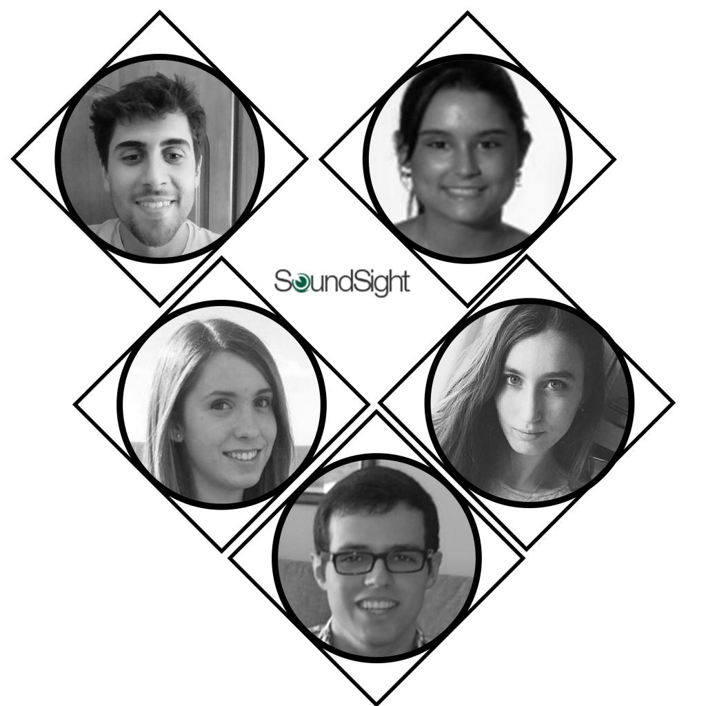 De arriba a abajo e izda-dcha: David, Laura, Patricia, Carlota y José Manuel.
