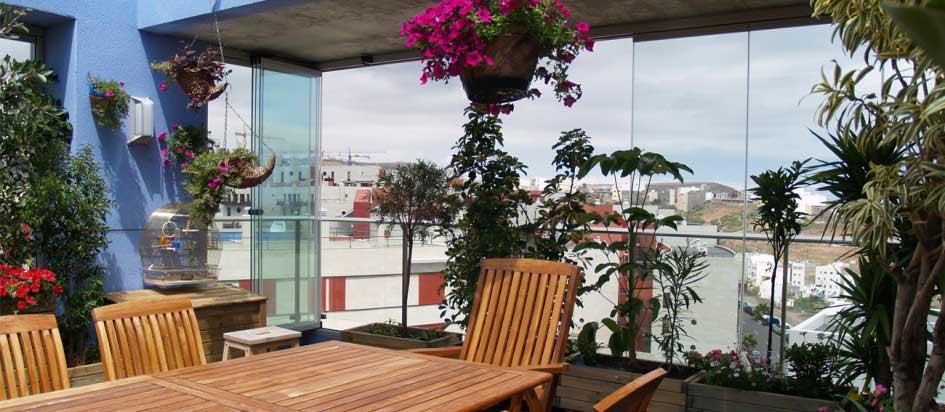 Redescubre tu terraza con las cristaleras plegables - Cristaleras plegables ...