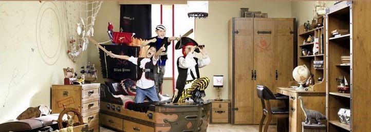 habitación barco pirata
