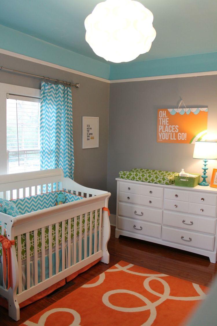 diseño-habitacion-bebe-cortinas-cama