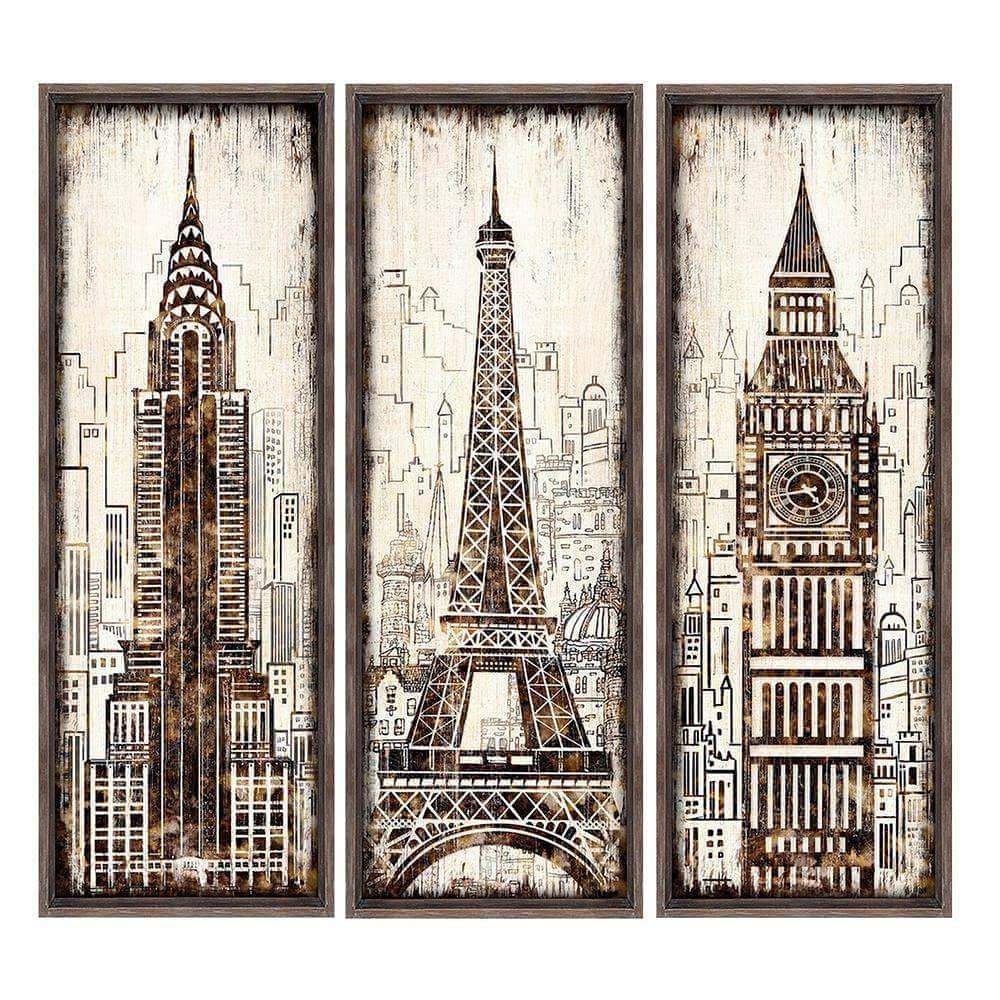 cuadros ciudades
