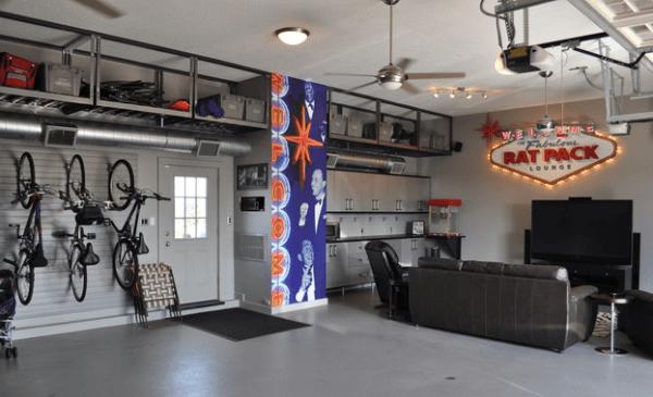 garaje salon
