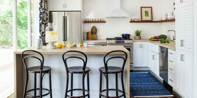 C mo dise ar una cocina peque a estilos ideas trucos for Cocinas originales pequenas