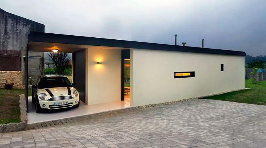 garaje integrado