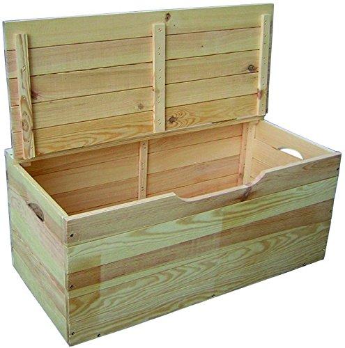 arcón de madera