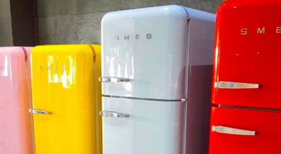 frigorificos smeg colores