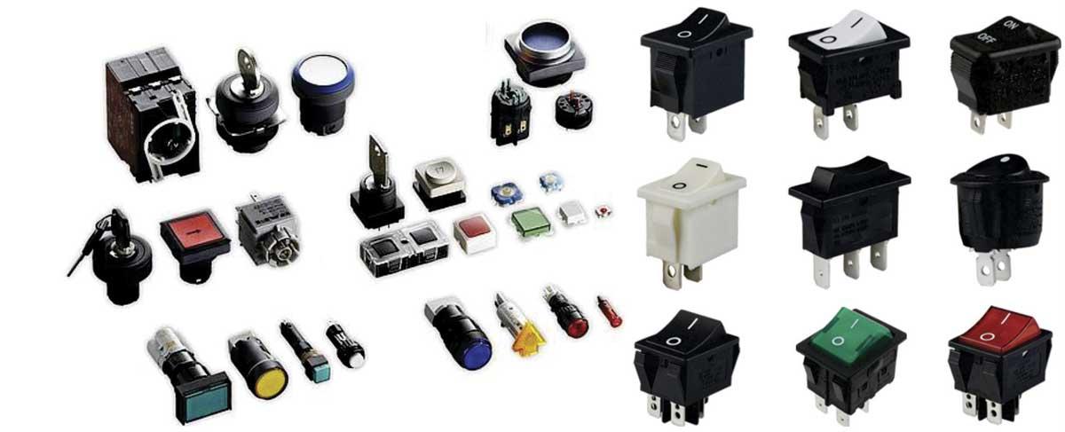 Tipos de interruptores y enchufes en el hogar