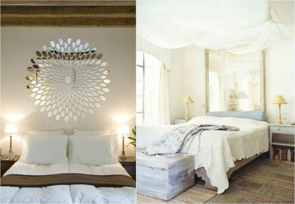 Tipos de espejos en un dormitorio estilos ideas trucos decorativos - Tipos de espejos decorativos ...